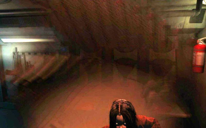 FEAR shooter horror dark supernatural online fighting wallpaper
