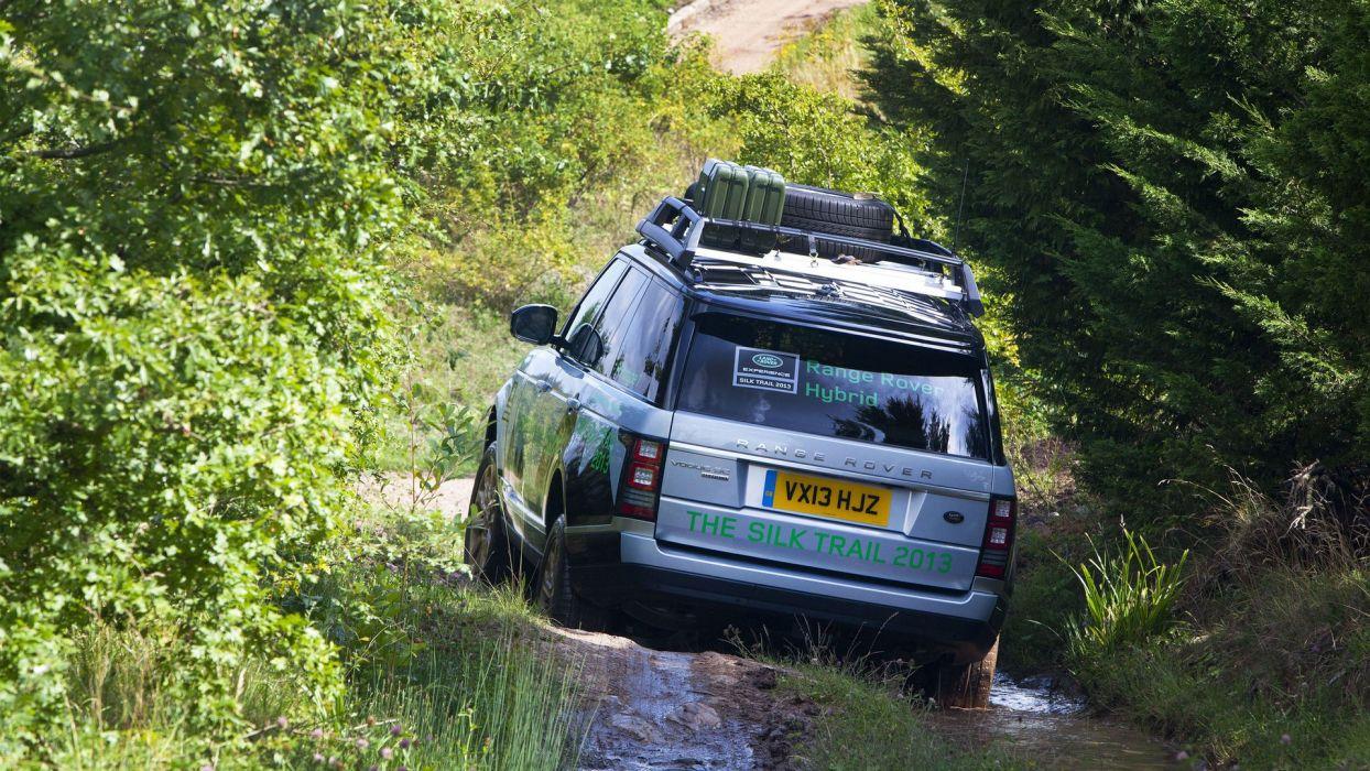 Vogue se Hybrid Range Rover car suv 4x4 wallpaper