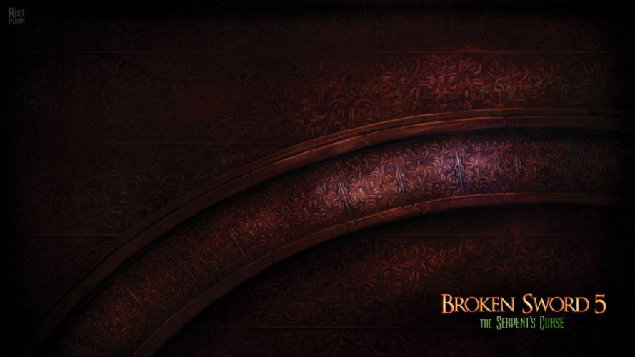 BROKEN SWORD adventure puzzle crime wallpaper