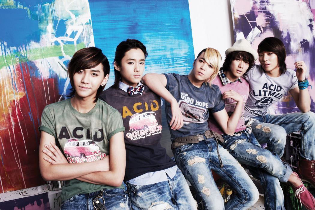 FIVE TREASURE ISLAND FTISLAND pop rock kpop k-pop wallpaper