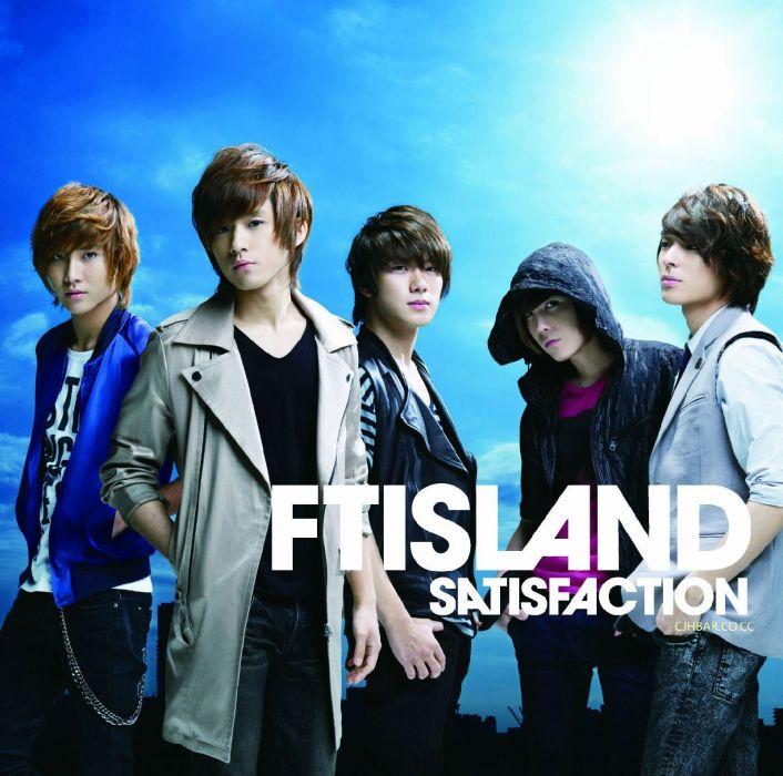 FIVE TREASURE ISLAND FTISLAND pop rock kpop k-pop wallpaper