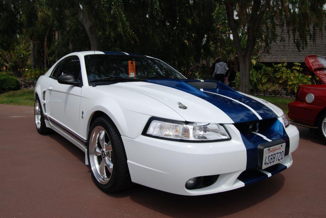 ford mustang MK4 cobra stv cars pony usa wallpaper