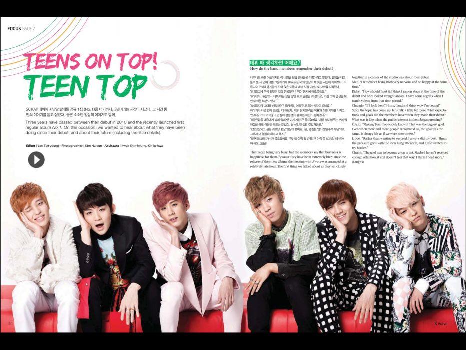 TEEN TOP kpop dance r-b k-pop pop wallpaper