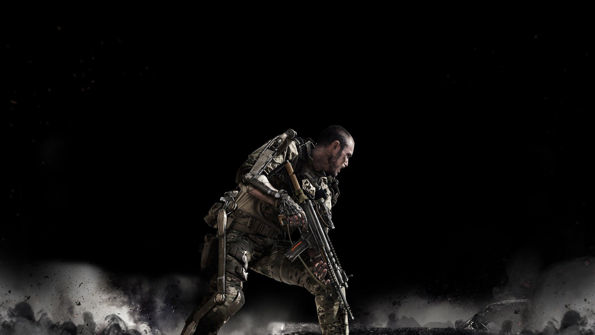 cALL OF DUTY Advanced Warfare fighting sci-fi shooter tactical military warrior futuristic cod ...