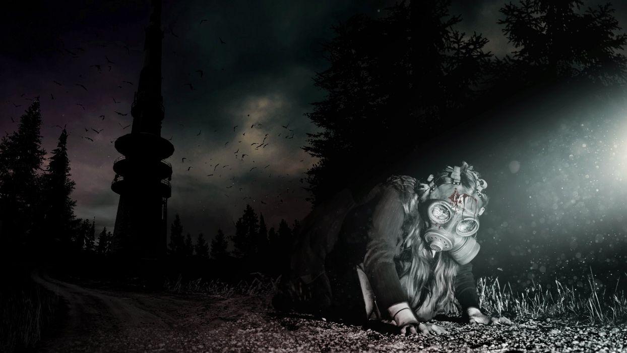 DAYZ survival horror zombie apocalyptic wallpaper