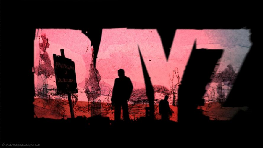 DAYZ survival horror zombie apocalyptic wallpaper