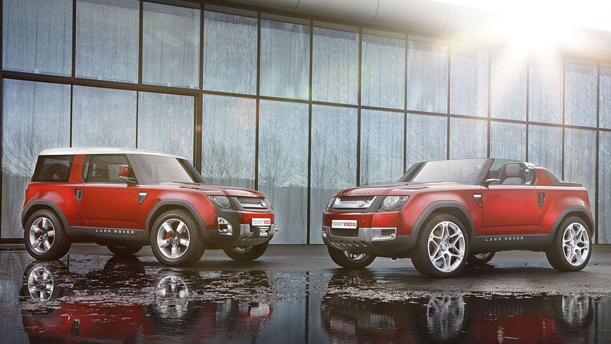 Land Rover Defender Concept 100 100S car suv 4x4 wallpaper