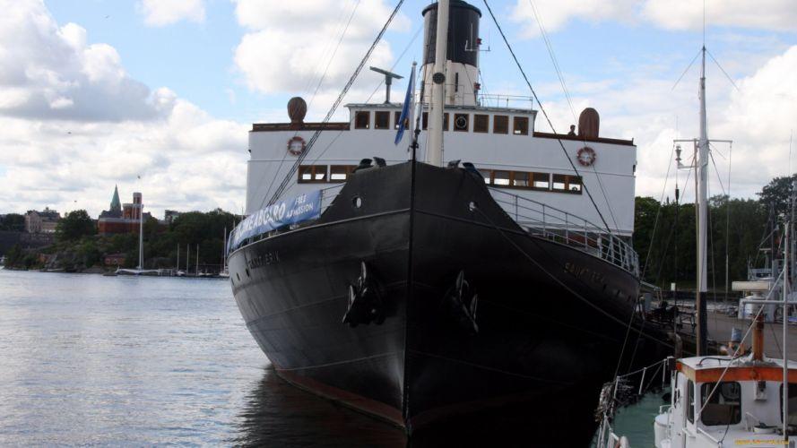 ship watercraft pier wallpaper
