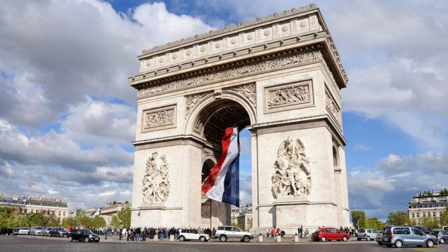 gate building arhitecture france wallpaper