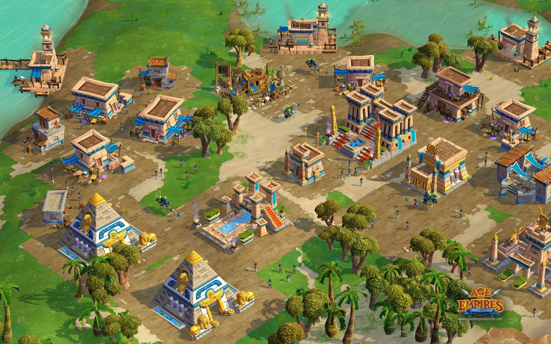 age of empires video game online wallpaper