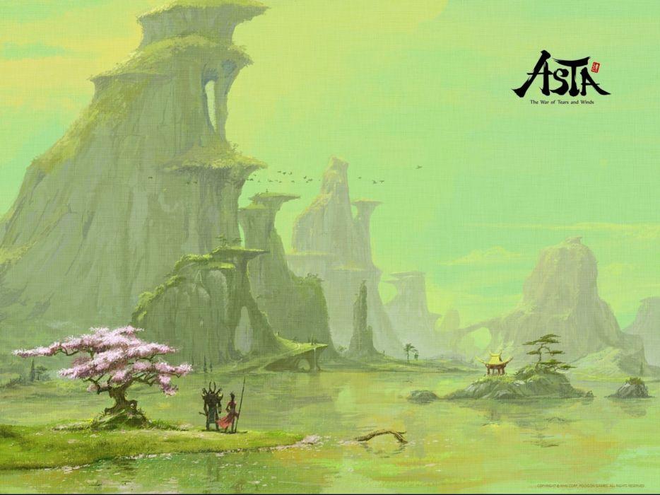 ASTA mmo rpg fantasy fighting asian wallpaper