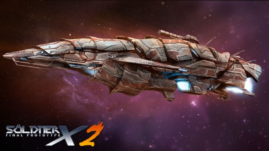 SOLDNER-X scrolling shooter sci-fi action spaceship soldner wallpaper