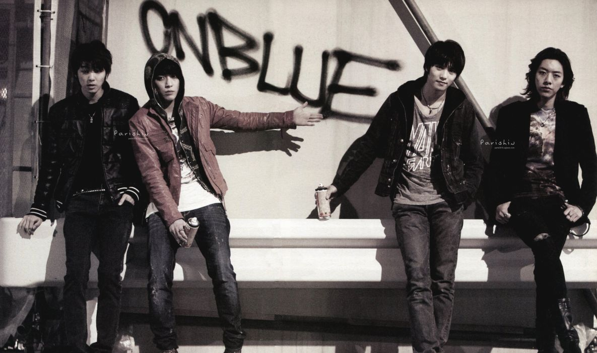 CNBLUE rock pop kpop alternative k-pop blue wallpaper