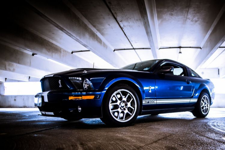 Ford GT500 muscle Mustang Shelby cars mk4 usa wallpaper
