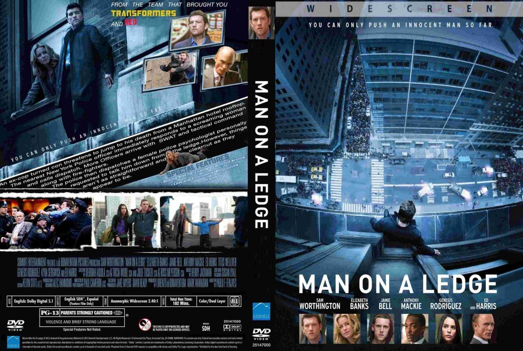 MAN ON A LEDGE action crime thriller wallpaper