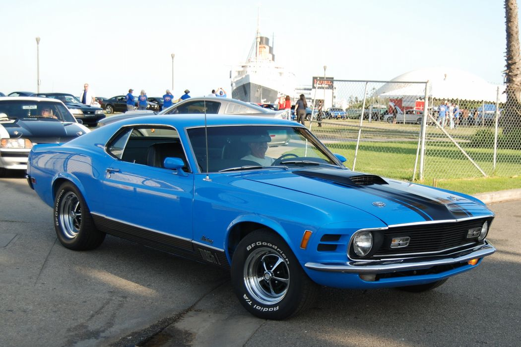1970 428 classic cobra jet mach mach 1 muscle Mustang super cars usa pony muscle coupe wallpaper