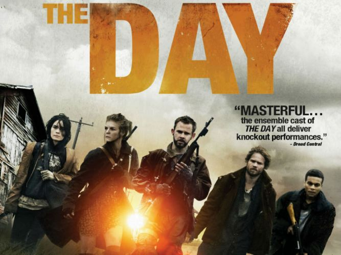 THE-DAY action crime horror apocalyptic sci-fi day poster wallpaper