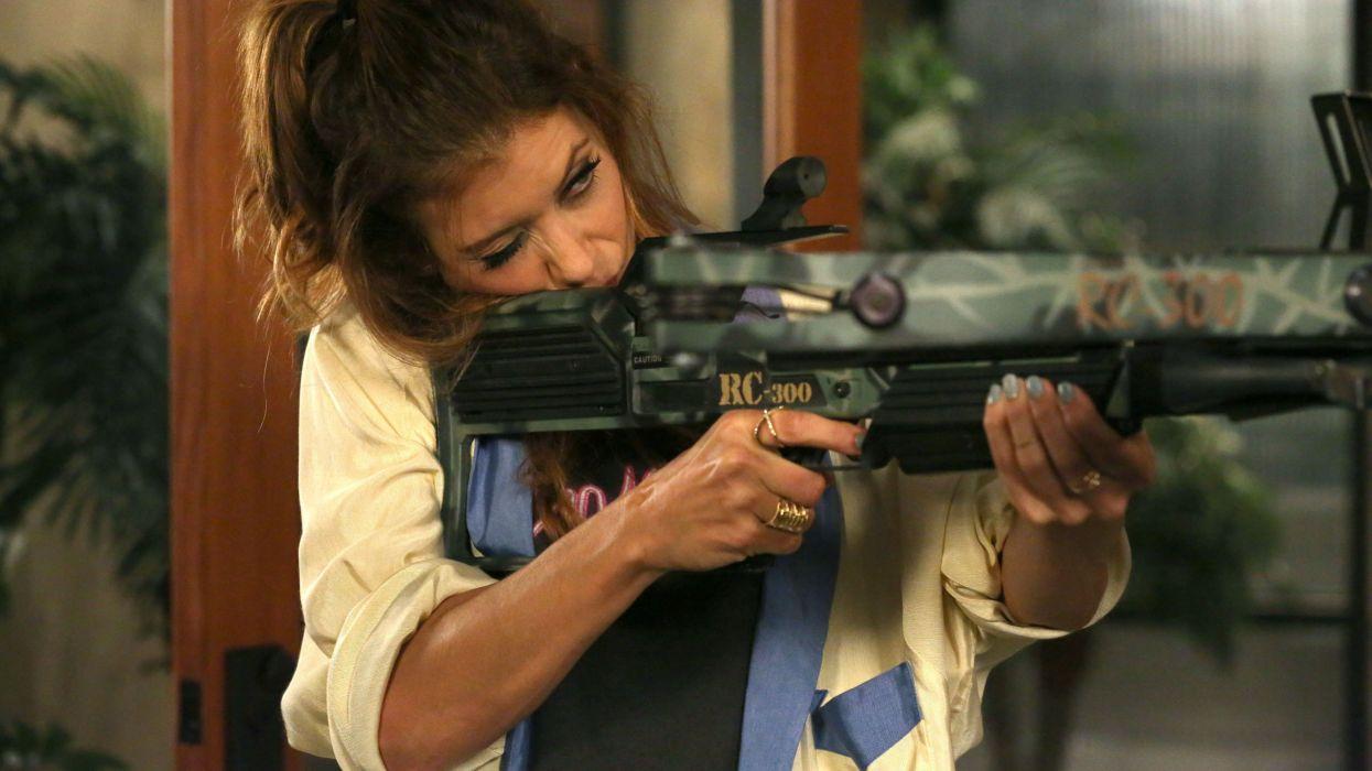 BAD JUDGE series crime comedy legal sitcom weapon gun wallpaper
