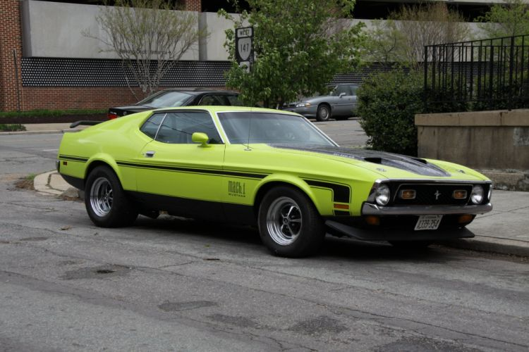 1971 428 classic cobra jet mach mach 1 muscle Mustang super cars usa pony muscle coupe wallpaper