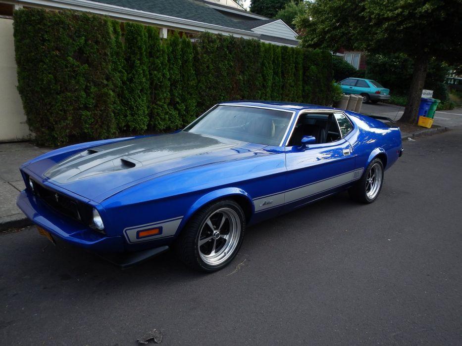 Mustang Cobra Jet >> 1973 428 classic cobra jet mach mach 1 muscle Mustang ...