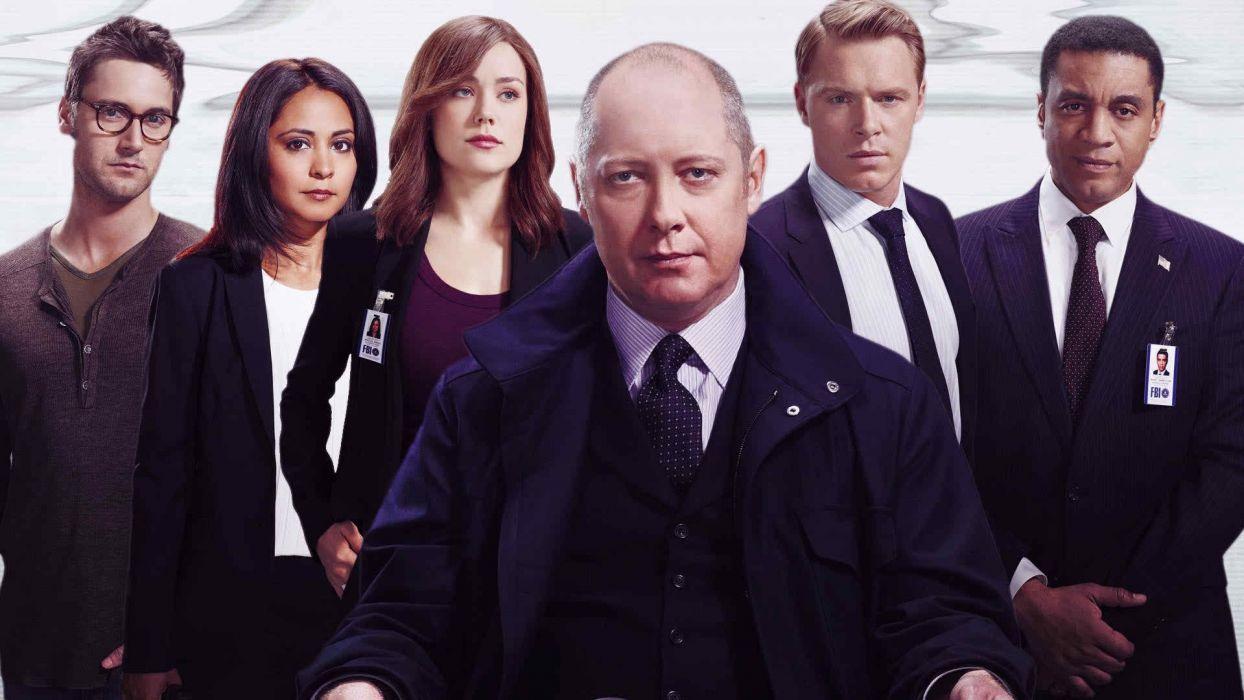 THE BLACKLIST crime drama mystery series wallpaper