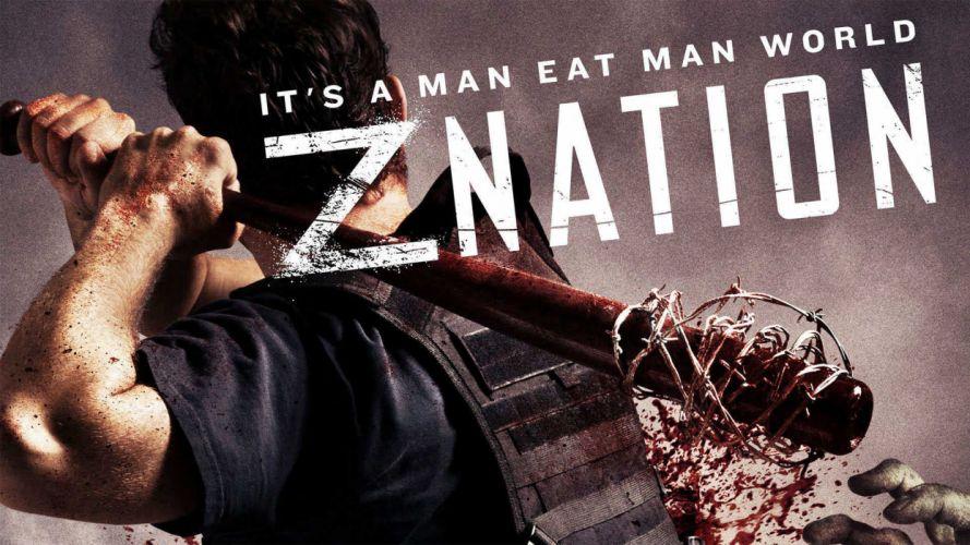 ZNation zombie horror action drama series dark wallpaper