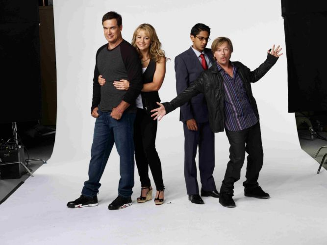 RULES OF ENGAGEMENT comedy sitcom series wallpaper