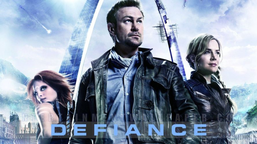 DEFIANCE series action drama sci-fi alien wallpaper