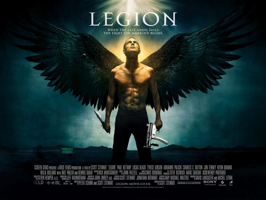 LEGION action fantasy horror apocalyptic supernatural angel poster wallpaper