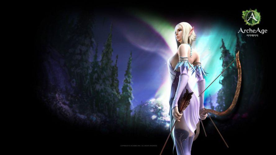 ARCHEAGE fantasy mmo rpg sandbox adventure online elf elves wallpaper