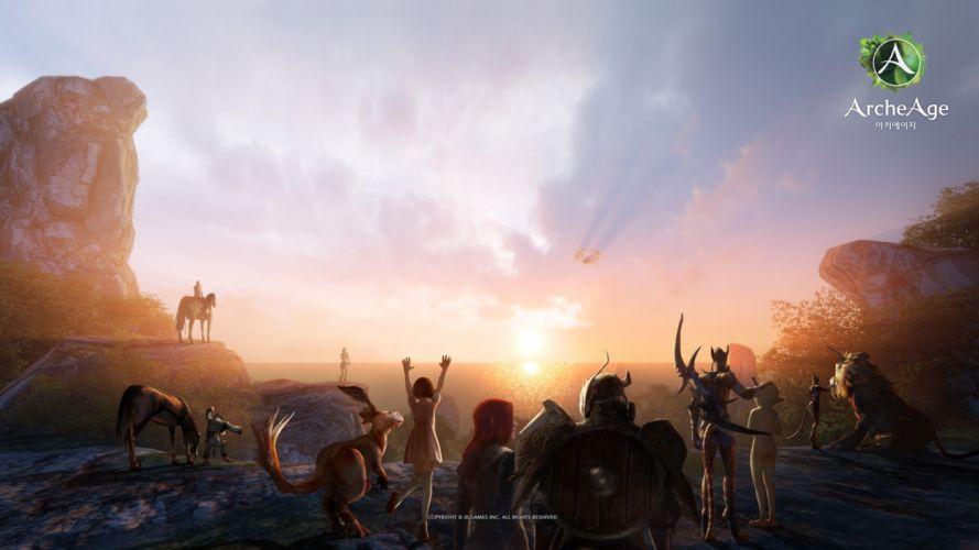 ARCHEAGE fantasy mmo rpg sandbox adventure online wallpaper