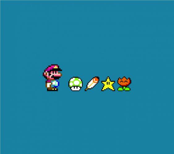Super Mario Power Up wallpaper