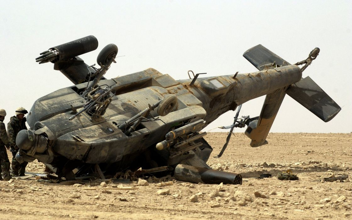 aircraft helicopter crash vehicle wallpaper