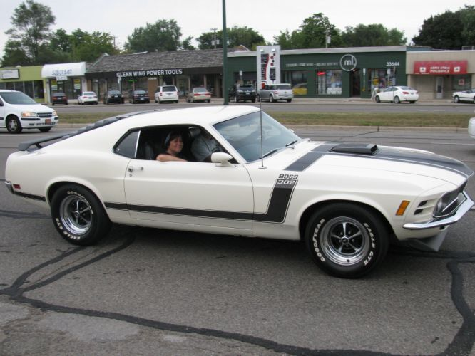 1970 302 Boss classic Ford muscle Mustang pony cars usa wallpaper