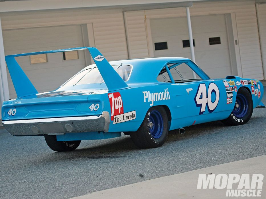 1970 classic muscle plymouth road runner superbird SupercarS NASCAR ...