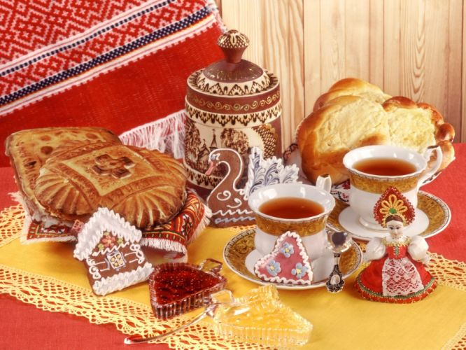 RUSSIAN FOOD russia wallpaper