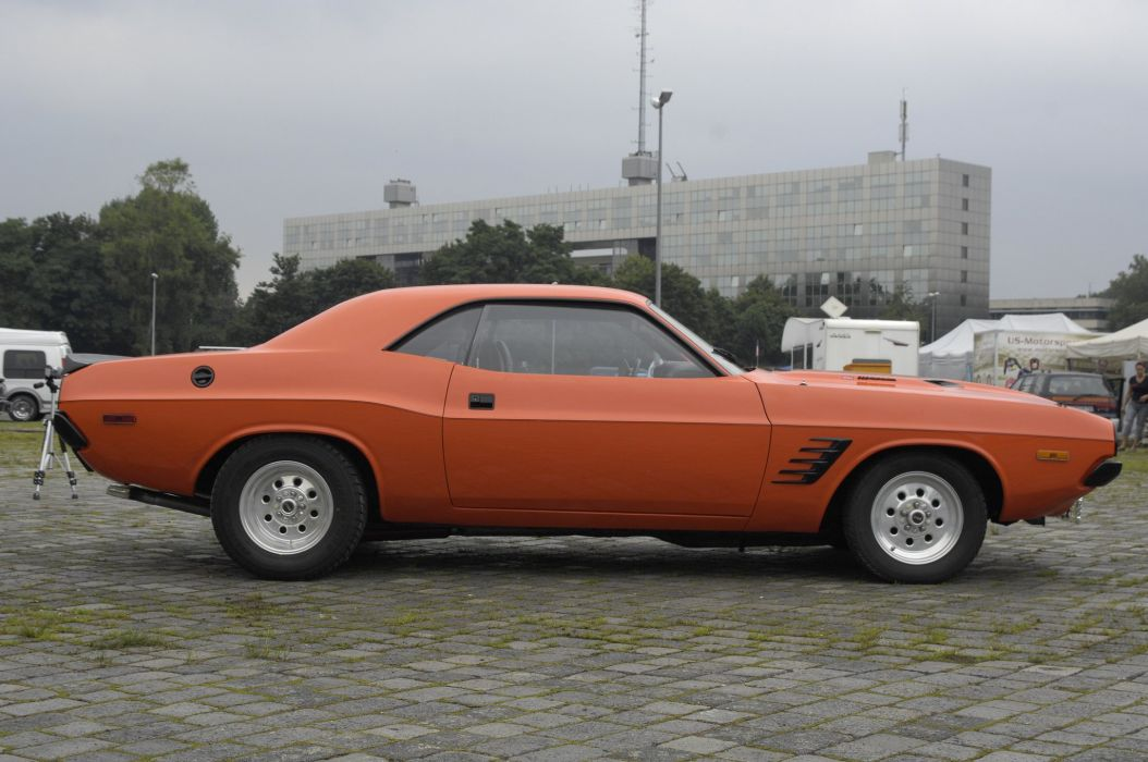 1974 challenger classic Dodge muscle cars wallpaper