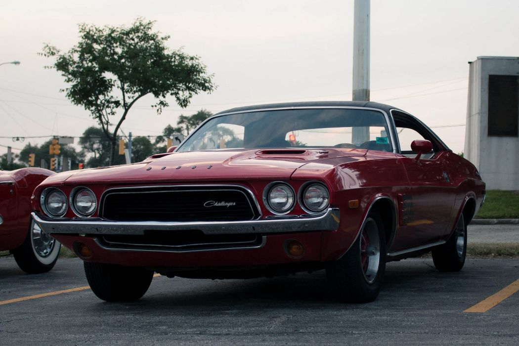 1973 challenger classic Dodge muscle cars wallpaper