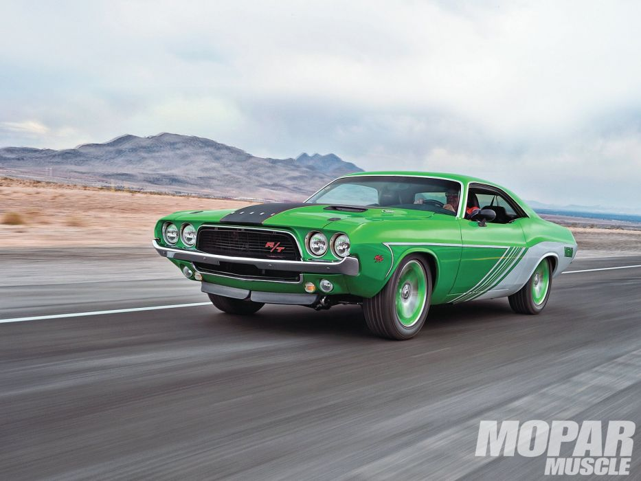 1972 challenger classic Dodge muscle cars wallpaper