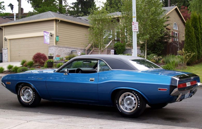 1970 challenger classic Dodge muscle cars wallpaper