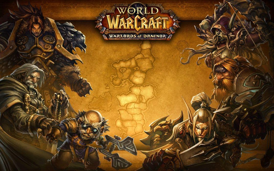 World Warcraft Warlords Draenor Fantasy Wow Wallpaper