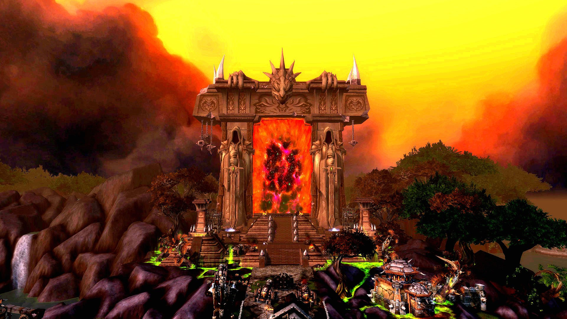 World Of Warcraft Warlords Of Draenor Screensaver Download Current