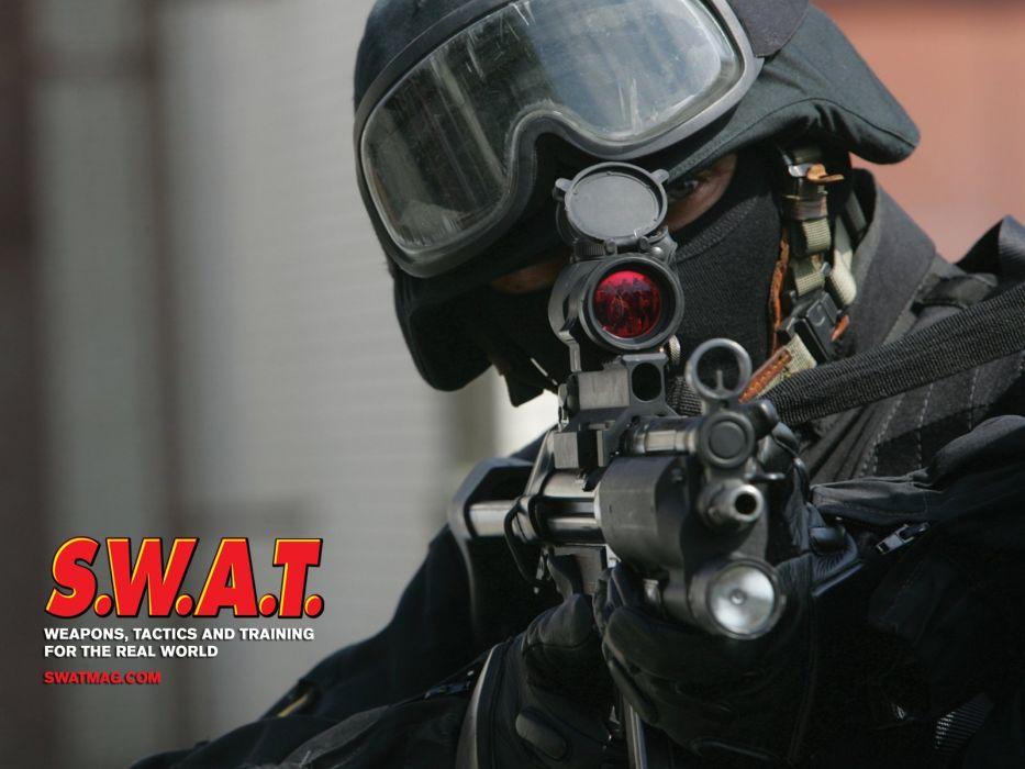 Swat Team Police Crime Emergency Weapon Gun Wallpaper 1600x1200