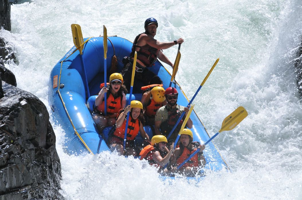 Rafting in Franklin River-  Outdoor adventures in Australia