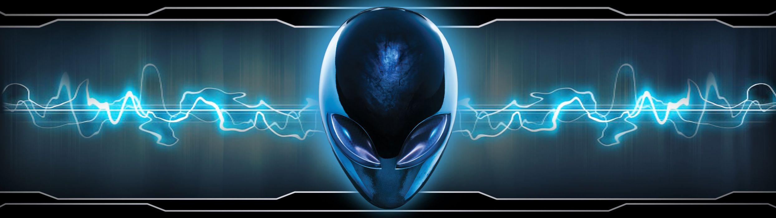 dual monitor scrren multi multiple alien alienware wallpaper