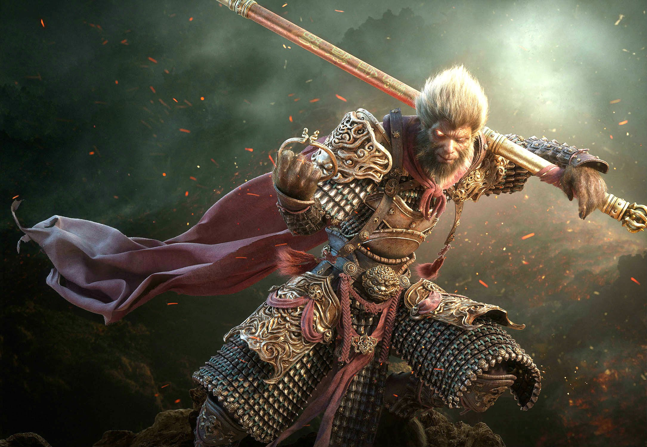 Monkey King Action Adventure Fantasy Martial Fighting Wallpaper