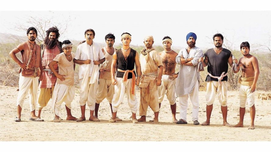 LAGAAN Once Upon Time India bollywood adventure drama musical wallpaper