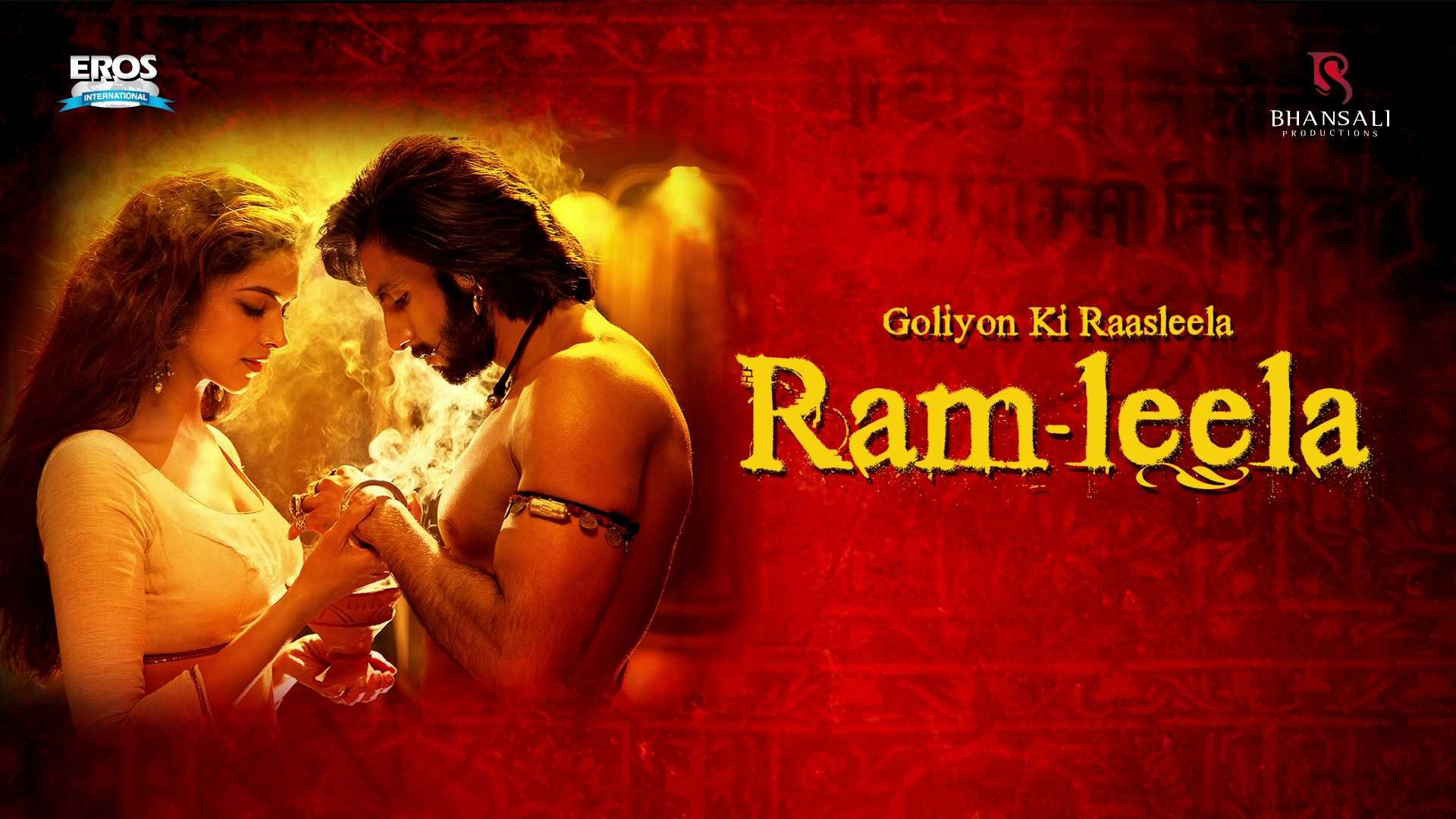 GOLIYON KI RAASLEELA RAM LEELA Bollywood Drama Musical Romance Deepika Padukone Wallpaper