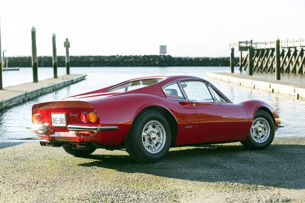 1969 Dino 246 G-T supercar classic wallpaper