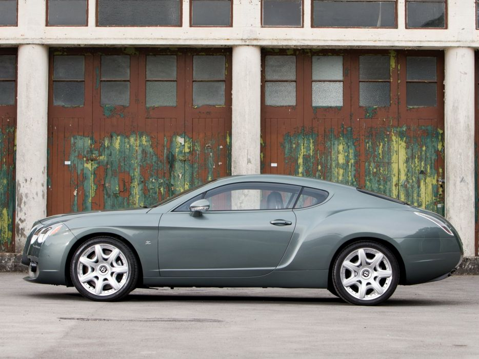 2008 Bentley GTZ Zagato luxury wallpaper